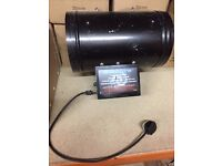 "Hydroponics 10"" Inch 250mm Twin Cell Aromozone Uvonair Ozone Generator CD-1000-2"