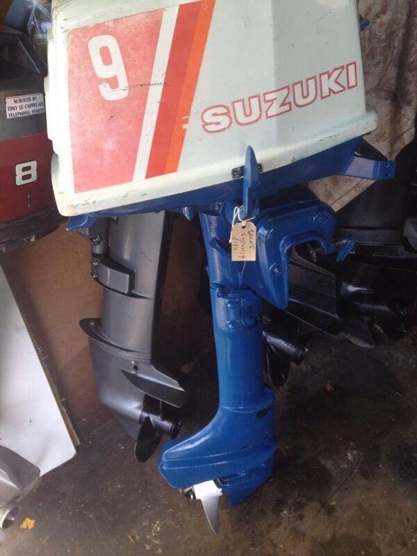 suzuki 9hp outboard motor   in lytchett matravers, dorset   gumtree