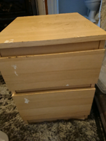 Free to collect bedside table/office drawers