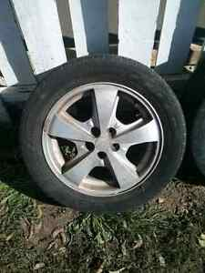 Rims and tires $40 or trade