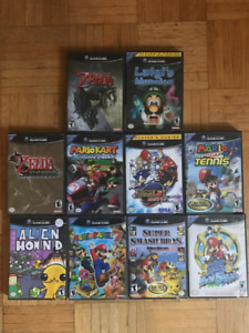 GameCube Games - Mario, Super Smash Bros Melee, Zelda, etc