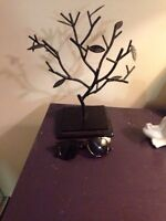 Jewelry tree for rings, bracelets, necklaces