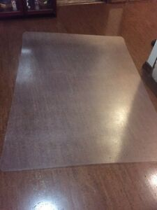 Chair mat for tile or hardwood