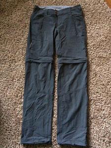 Columbia zip off hiking pants