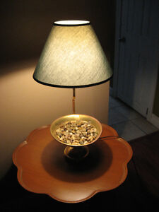 Brass Planter Lamp