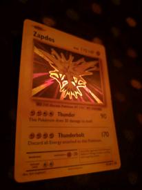 Zapdos secret rare