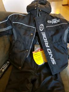 Eco ride snow ride snow suit set size 2