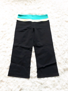 2 pairs of Lululemon crop pants BOTH for $15!!