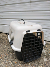 Large cat small dog pet animal carrier carry box basket