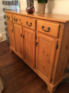 Just like new sideboard with lots of storage