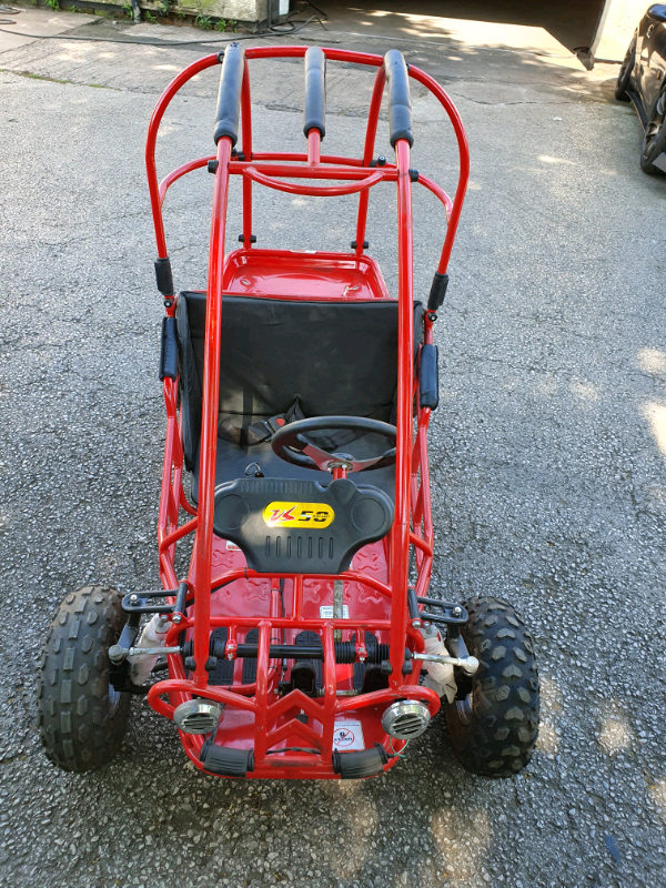 Off road kids buggy  50cc Automatic Go Kart 2 seater | in Hazel Grove,  Manchester | Gumtree