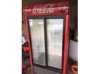 Coca cola fridge 3 month warranty free delivery