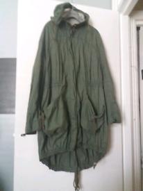 Woman's coat/mac large