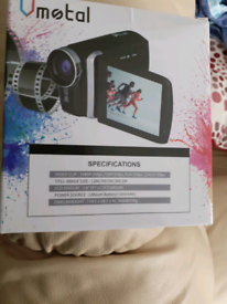 Brand new camcorder