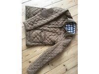 TOPSHOP quilted jacket size 12