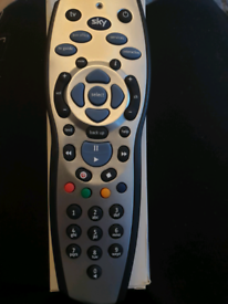 Sky remote unused with instructions to pair with tv