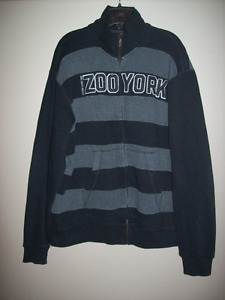IMPECCABLE / SIZE XL / ZOO YORK CHANDAIL FULL ZIP SWEATER