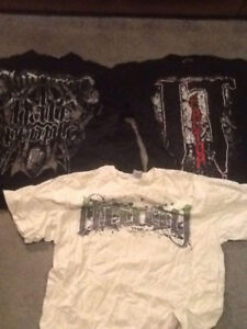 TNA/Impact Wrestling t shirts 2 for 1