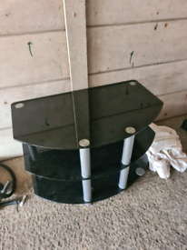 Glass tv table FREE