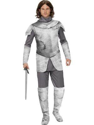 Ritterkostüm Mittelalter deluxe Rüstung Ritter Knight Kostüm Herren Gr. M