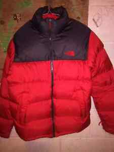 Like new north face jackets men's