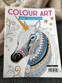 Colouring books.