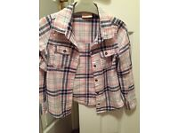 Girls checked shirt age 7 from NEXT