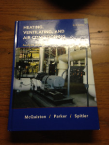 Heating ventilating and air conditioning Sixth edition by Parker