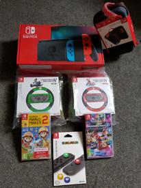 Nitendo Switch Deluxe All Brand New