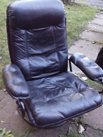 FAUTEUIL INCLINABLE NOIR