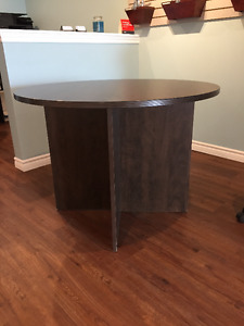 "40"" Round Office Table"