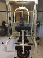 Complete Gym (Workout bench & weights)