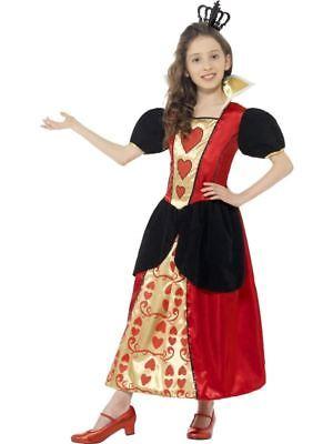 Mädchen Miss Herzen Kostüm Königin der Herzen Alice im Wunderland Kinder Kostüm