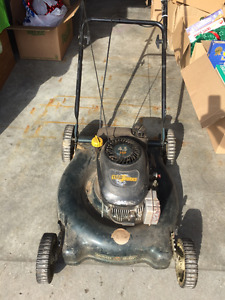 Yard Works Push Lawnmower