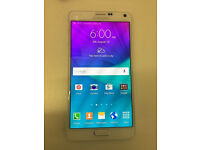 SAMSUNG NOTE 4 32GB UNLOCKED AS NEW CONDTION WITH RECEIPT AND WARRANTY