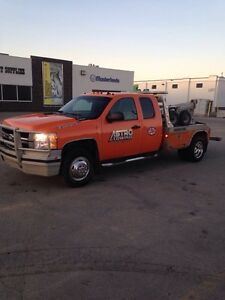 2008 Chevrolet 3500 Tow Truck.