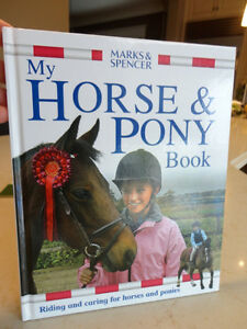 3 Books -Crazy For Puppies , Horse & Pony Book, When Santa Fell Kitchener / Waterloo Kitchener Area image 2