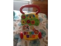 Childs first steps baby walker