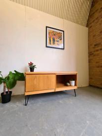 Danish Mid Century Oak Sideboard