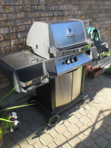 3  yr. old Broil King Crown BBQ $120. Includes tank/propane