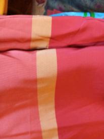Vintage curtains long length