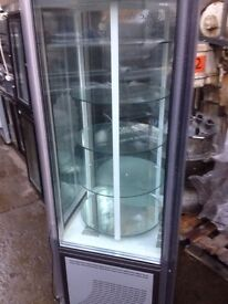 Cake fridge/ display standing fridge (used)