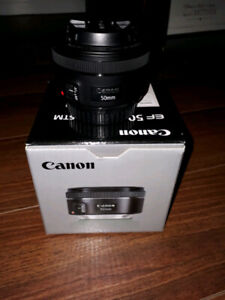 Canon 50mm STM (1 month)
