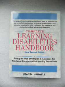Complete Learning Disabilities Handbook by J. Harwell