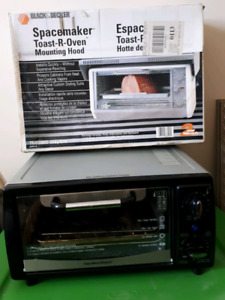 Toaster oven & mounting hood