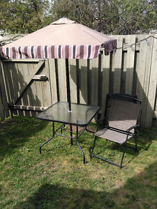 Patio set 6 piece
