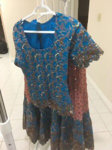 Selling Pakistani and Indian party clothes, lengha
