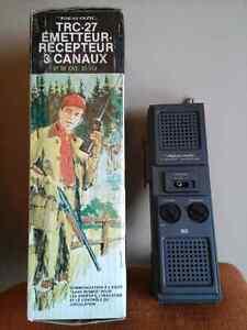 Vintage Walkie Talkie Telephone