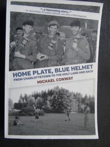 HOME PLATE, BLUE HELMET by MICHAEL CONWAY 2016