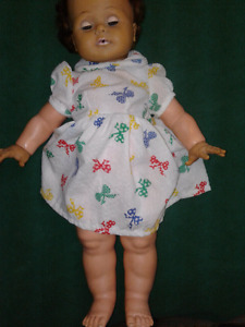 Vintage rare life like doll